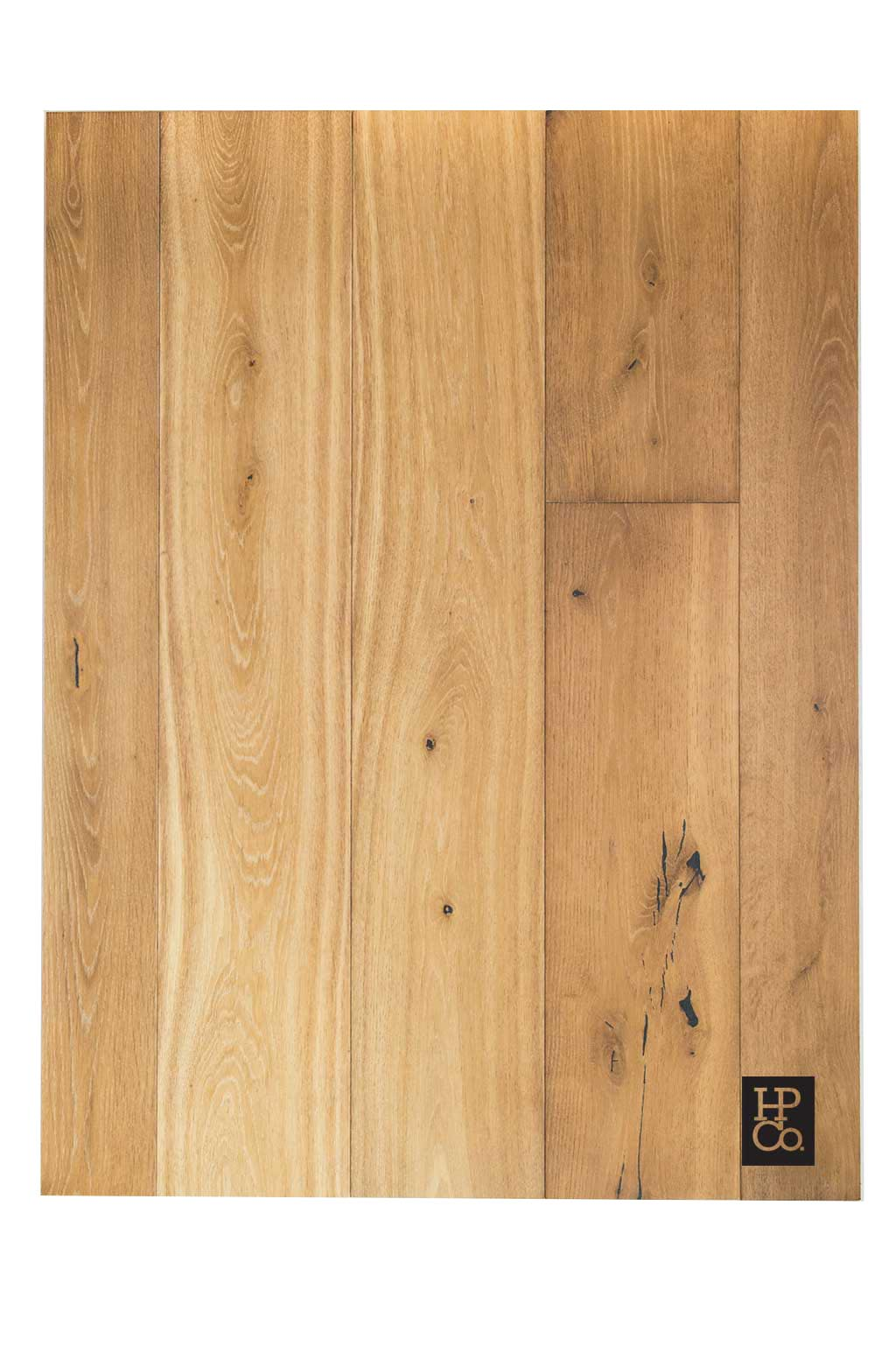 European White Oak Rustic Grade Color Gilded