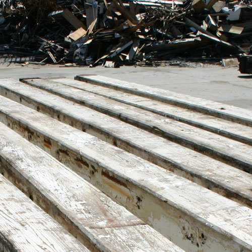 Reclaimed Longleaf Heart Pine Structural Beams